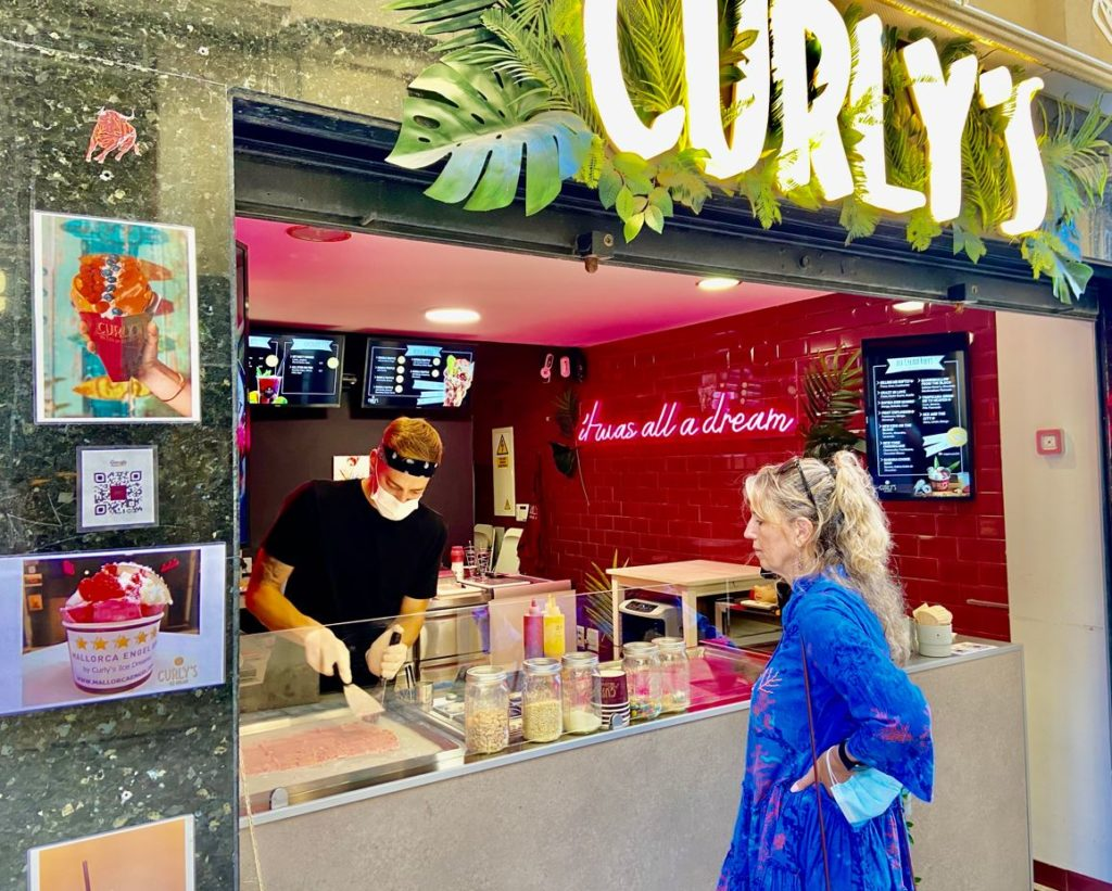 Mallorca Engel Eis by Curly´s Ice Dreams